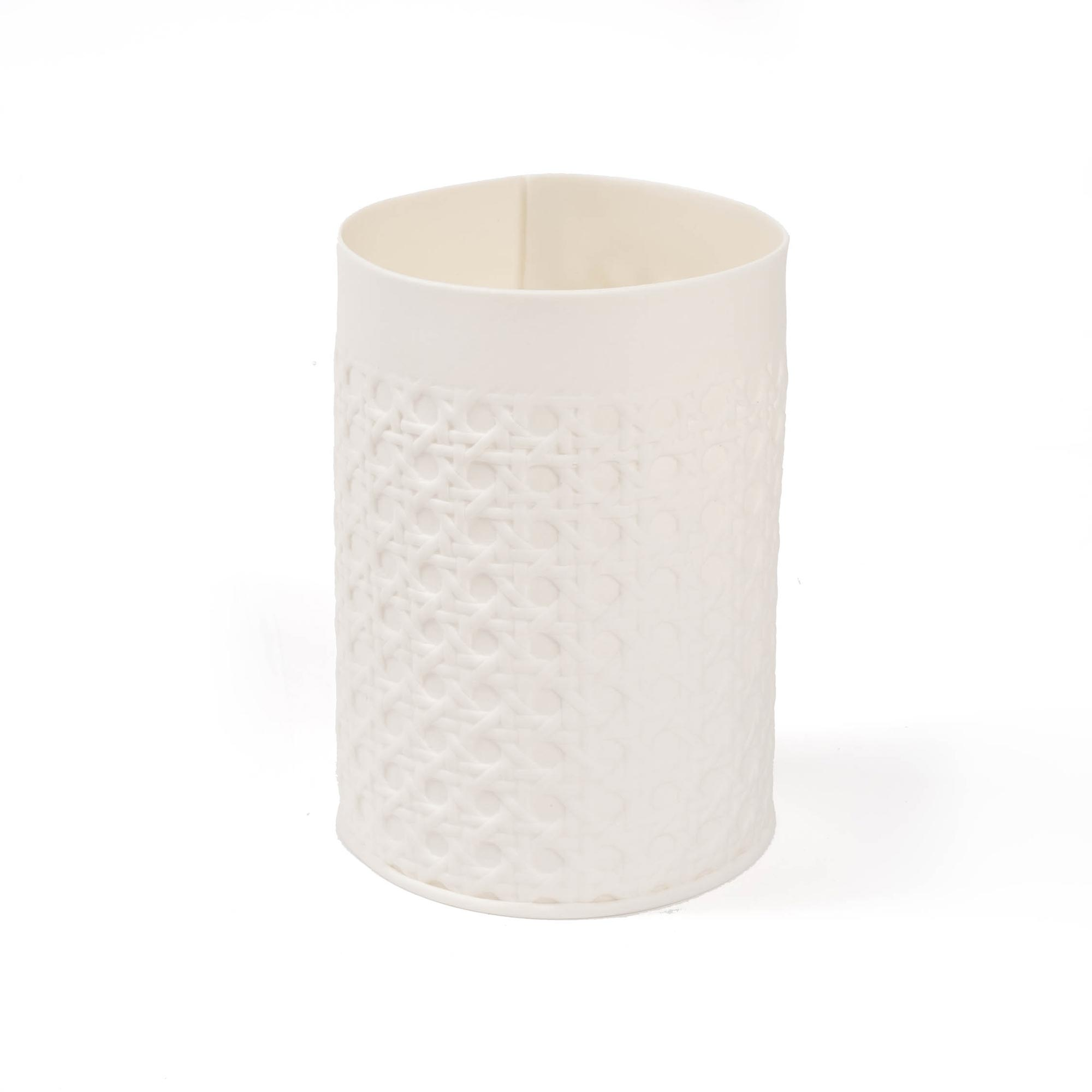 Rattan Tea Light - Medium