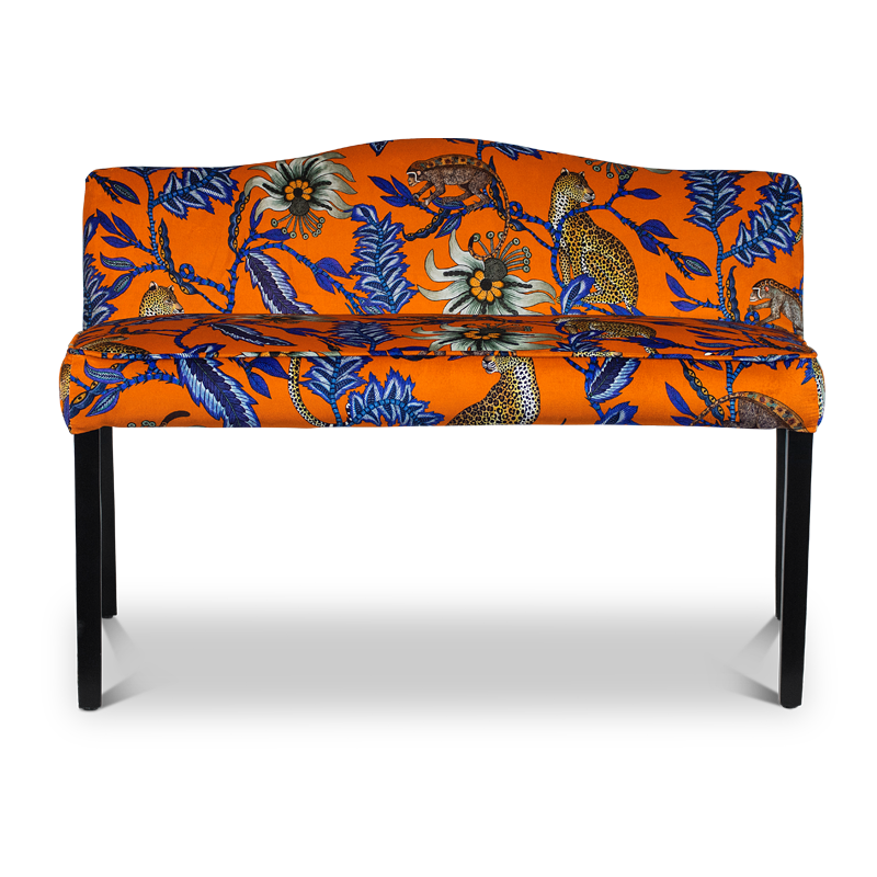Monkey Bean Bench - Velvet (Made to Order)