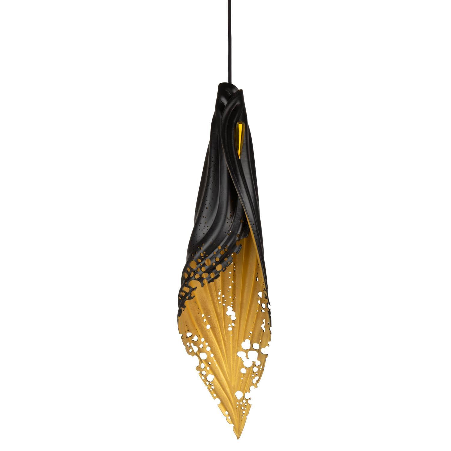 Pierced Blade Light - Large - Black/Gold