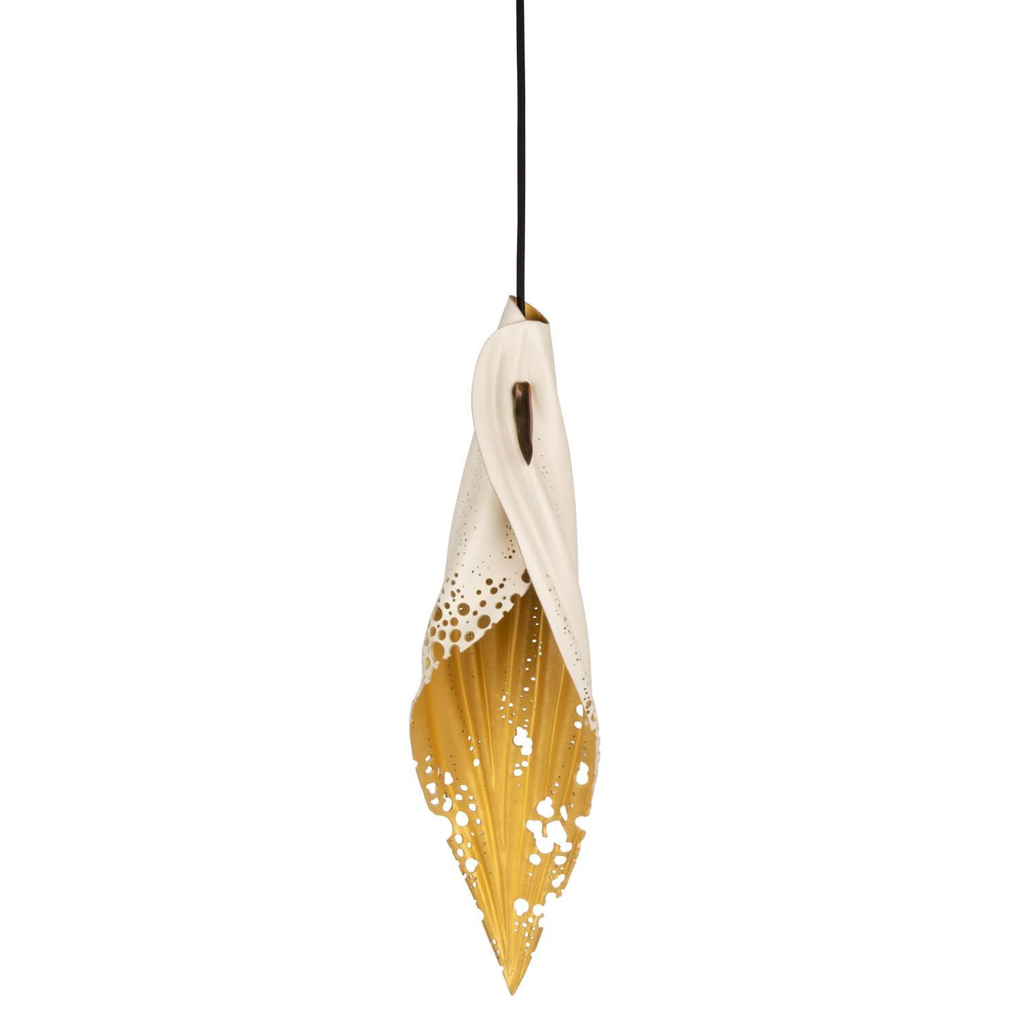 Pierced Blade Light - Medium - Bone/Gold