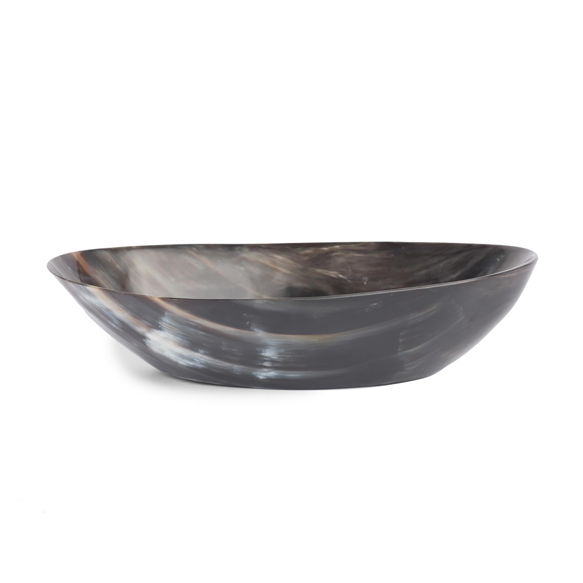 Cow Horn Bowl - Oval Deep