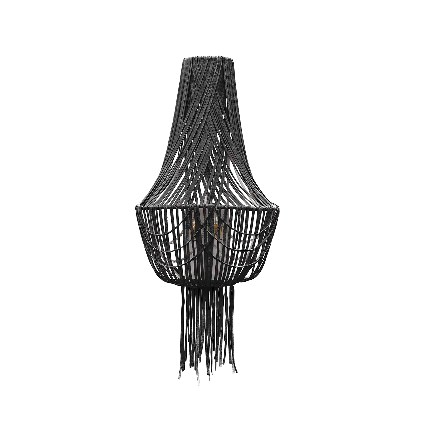 Empire Wall Sconce - Premium Leather (Made to Order)