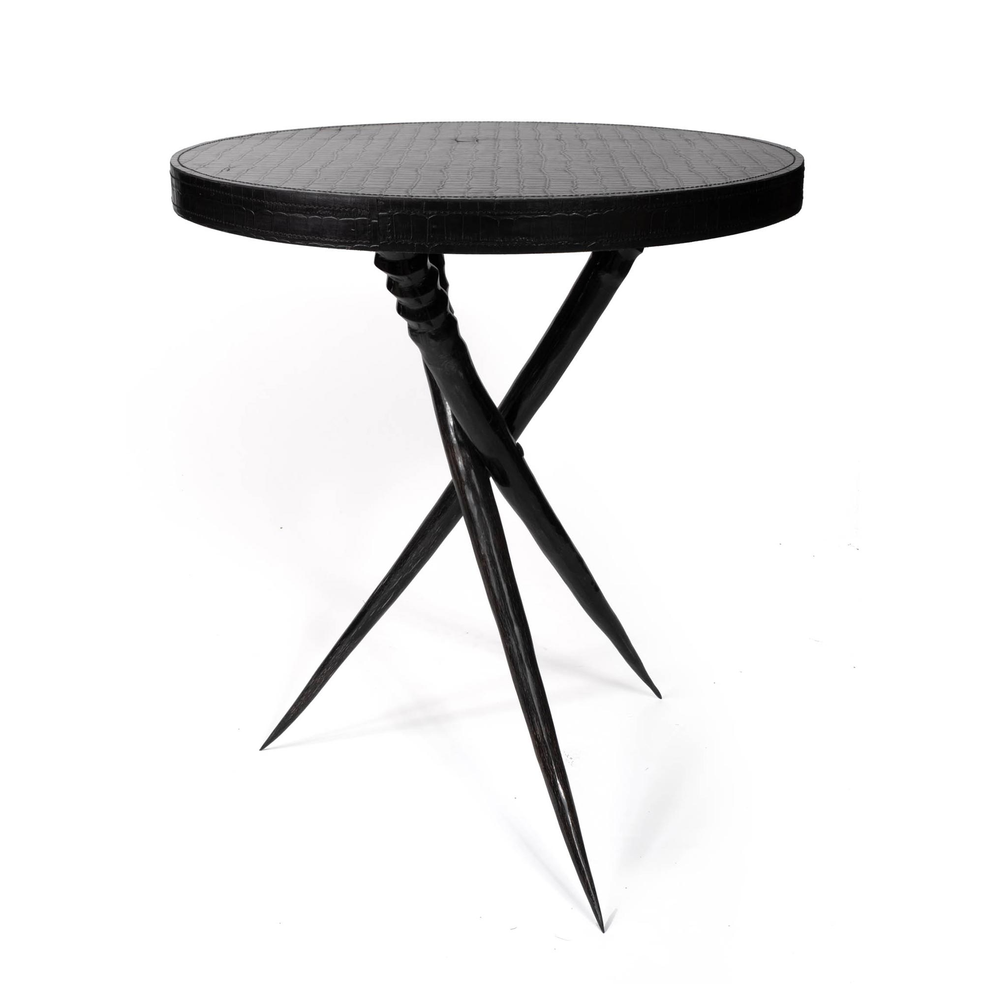 Gemsbok Horn Table