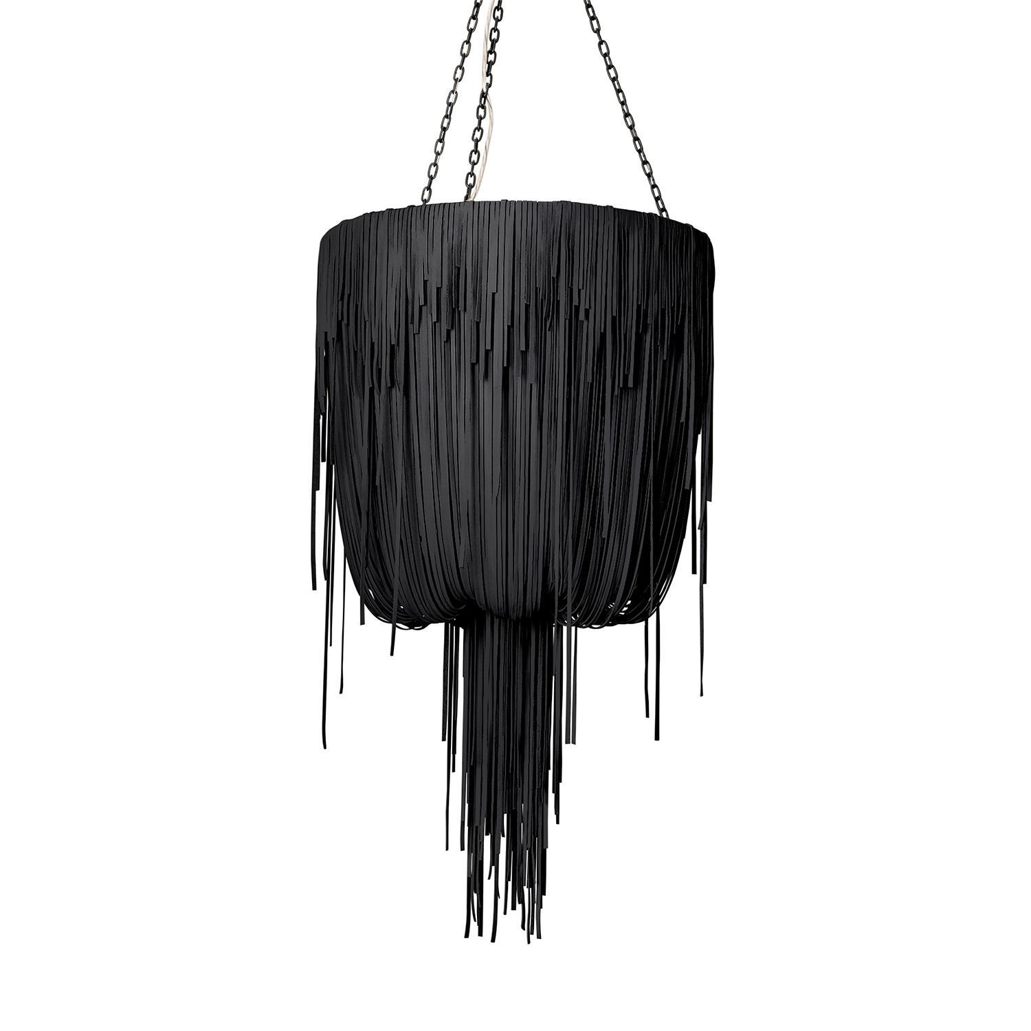 Urchin Chandelier - Small - Premium Leather (Made to Order)