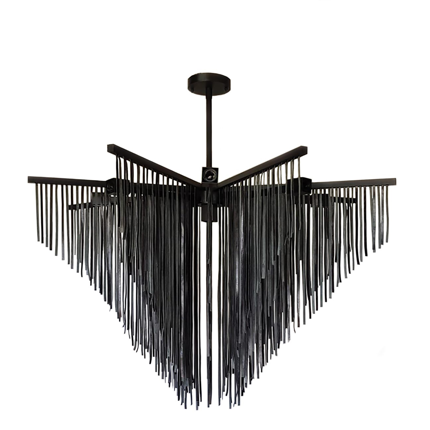 "Starling Leather Chandelier (48"" DIA)"