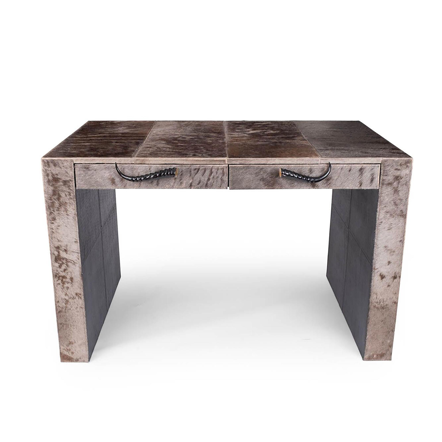 Wildebeest Hide Desk (Made to Order)
