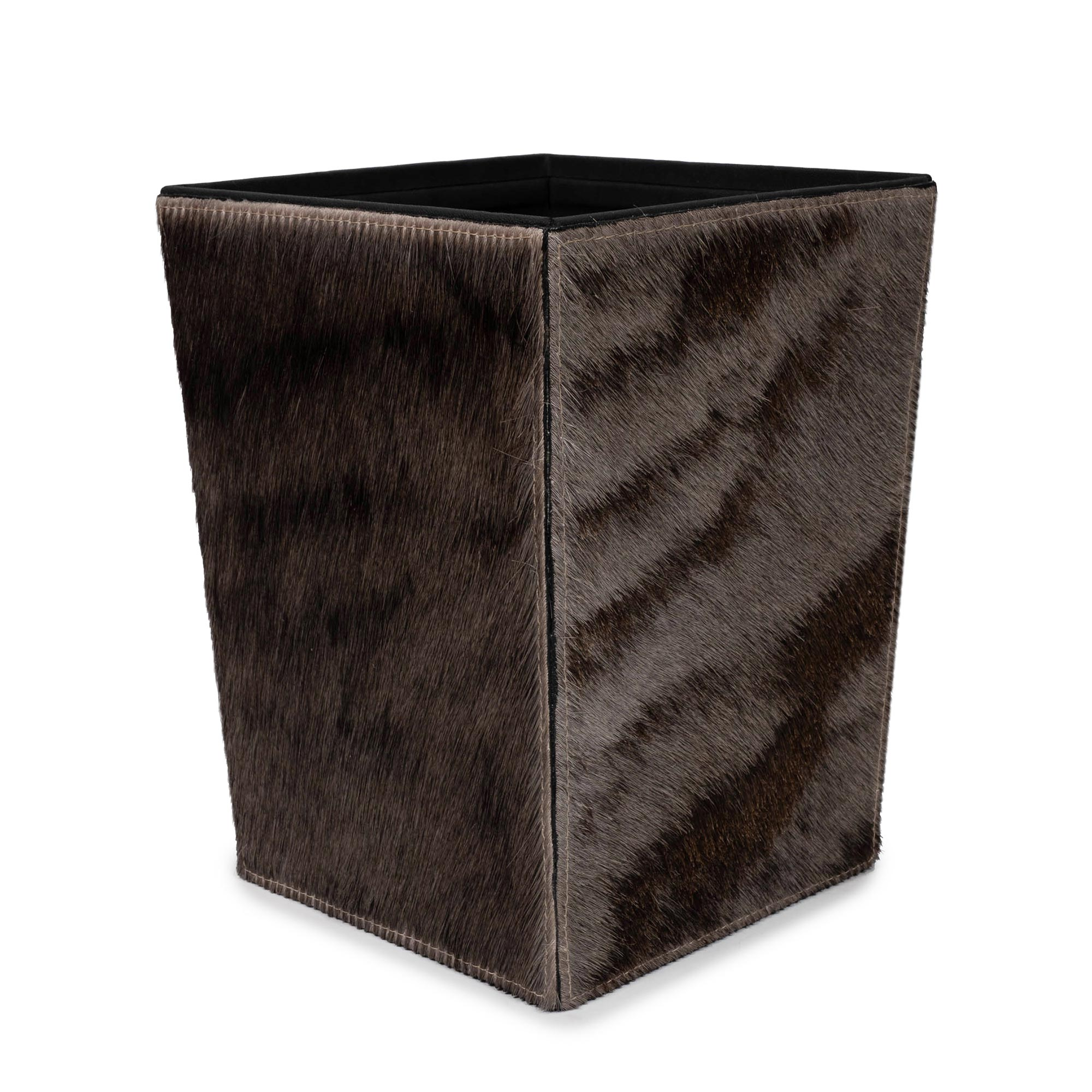 Waste Basket - Wildebeest Hide
