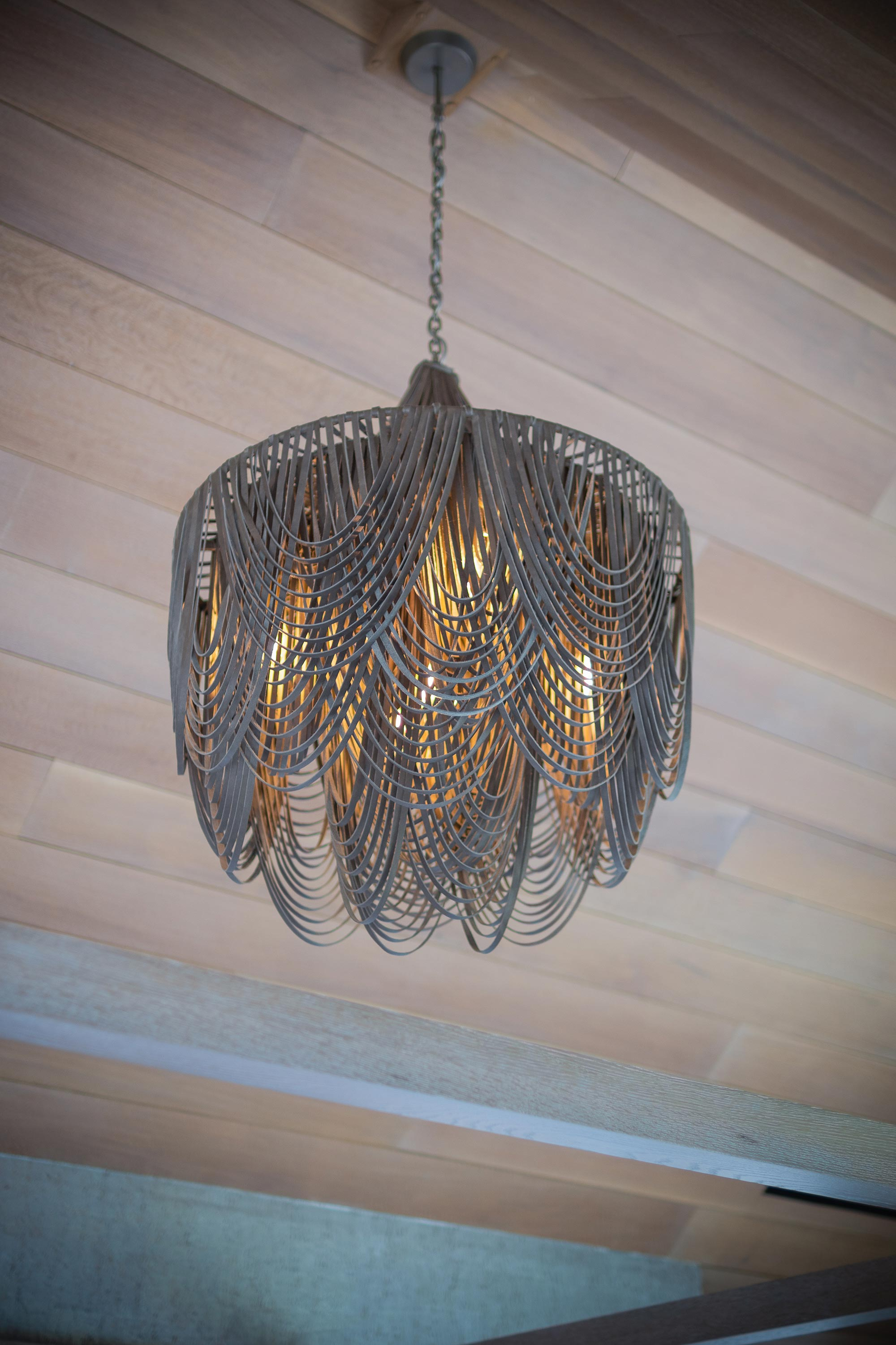 Whisper Chandelier W Crown Medium Short Premium Leather Made To Order Ngala Trading Co