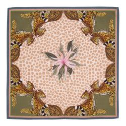 Leopard Lily Napkins (Pair) - Stone