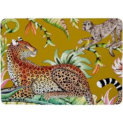 Monkey Paradise Placemats (Pair) - Swamp
