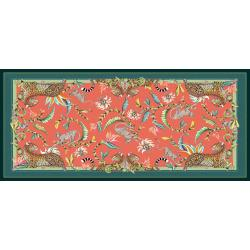 Monkey Paradise Tablecloth - Coral - Large