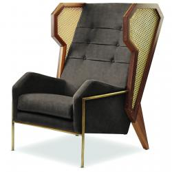 Livingstone Wingback Chair (Made to Order)