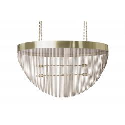 Romantic Chandelier - Oval - Brass (Made to Order)